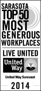 UWS Corp Top 50 Sarasota_Badge_vertical_bw