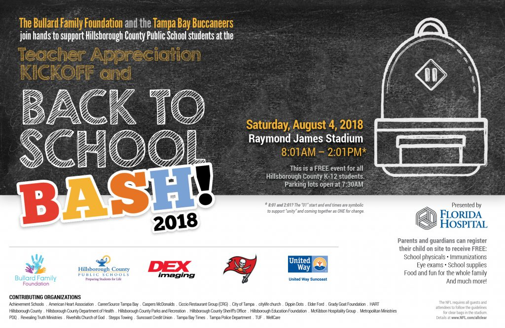 Back To School Bash 2018 - United Way Suncoast
