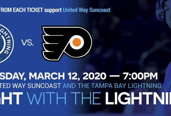 United Way Night with the Lightning