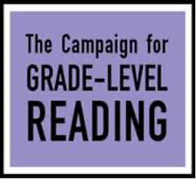 """Colorful graphic with words: """"The Campaign for Grade-Level Reading"""""""