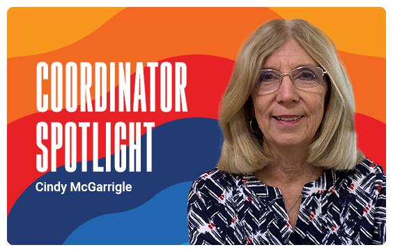 Campaign Coordinator Cindy McGarringle