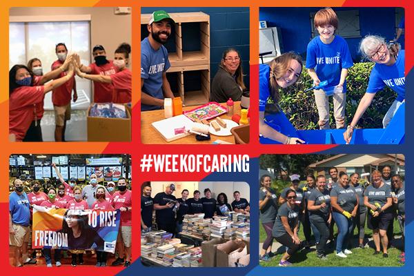 Week of Caring volunteers