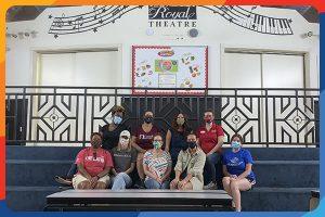 Volunteers at Royal Theater Club