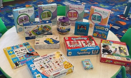 Literacy Kit for 3 to 4 year olds