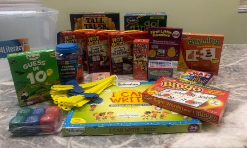 Literacy Kit for K to 2nd Graders